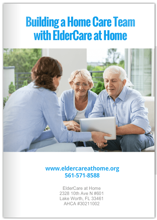 FREE e-Book! Building a Home Care Team with ElderCare at Home