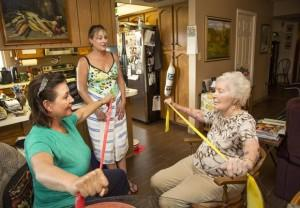 Tuesday Tips for Caregivers - Exercising While Caregiving