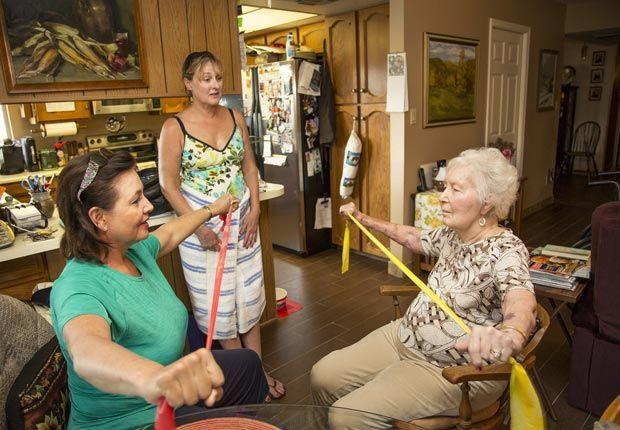 Tuesday Tips for Caregivers – Exercising While Caregiving