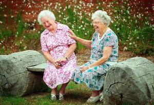 How humor helps the elderly